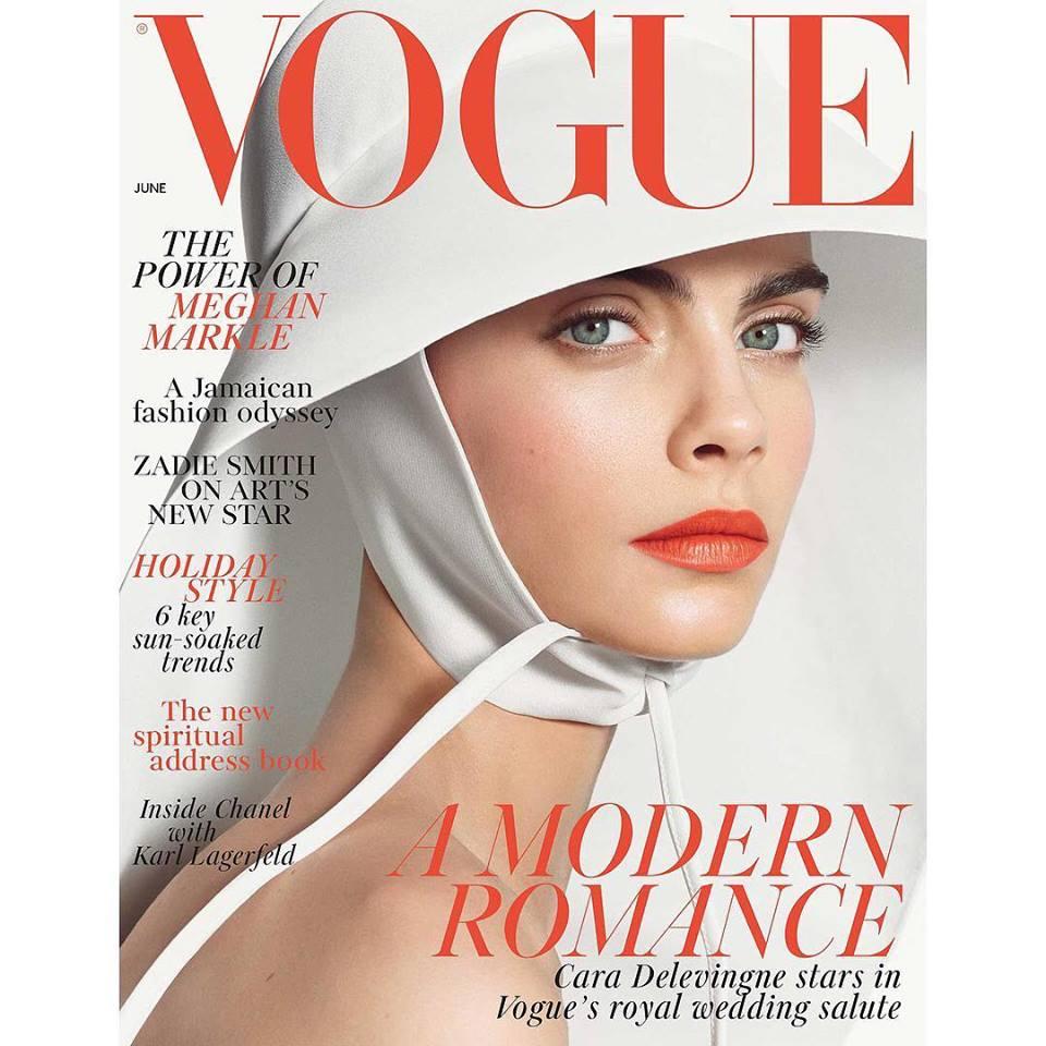 Cara Delevingne for Vogue UK June 2018