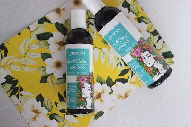 Shampoo e Condicionador  Linha Sou + Cachos Yenzah