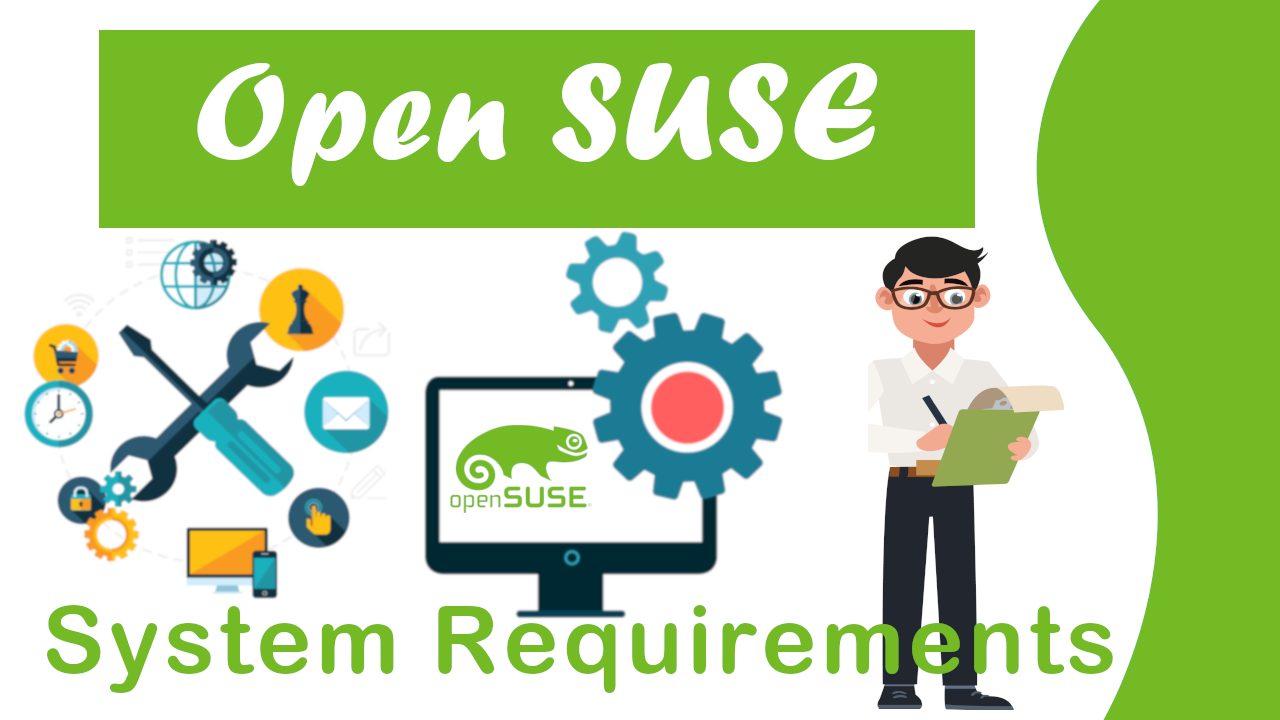 Open suse leap system requirements