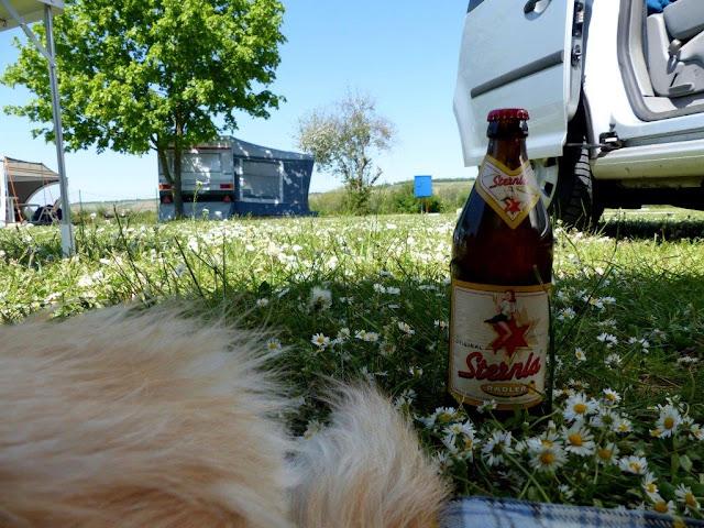 Camping Urlaub VW Caddy umbau Übernachten im Auto Main Würzburg Kalte Quelle