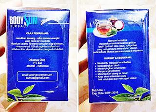 BSH Tea Body Slim Herbal Tea