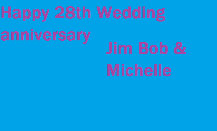 28th Wedding Anniversary Gift: The Duggar Family Blog: Happy 28th Wedding Anniversary Jim