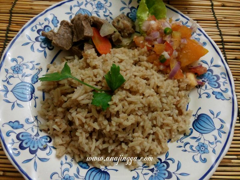 Cara Masak Nasi Daging Dan Air Asam Mudah