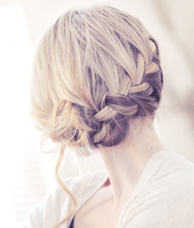 Wedding Hair French Braid: Love My Hairstyle: Low Side French Braid