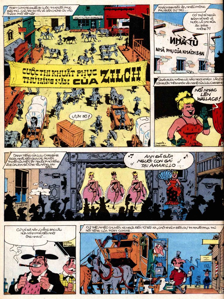 Lucky Luke tap 17 - ganh xiec mien vien tay trang 38
