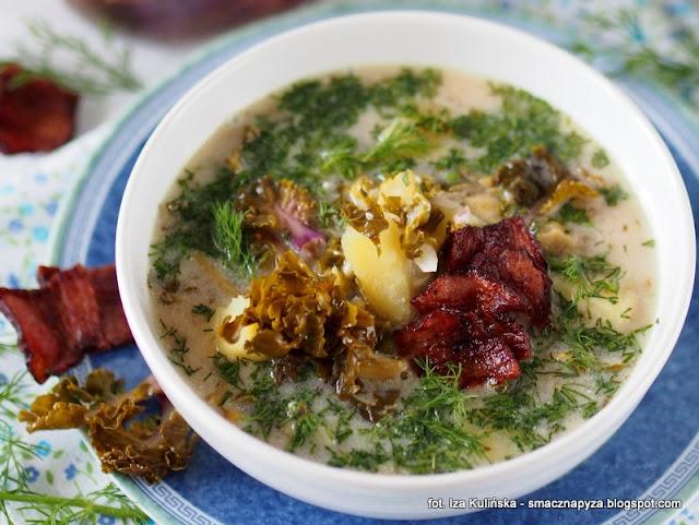 kapusniak z kiszonej kalerosse, kiszona kalettes, zupy, zupa domowa, kapusniaczek, polubisz zawartosc
