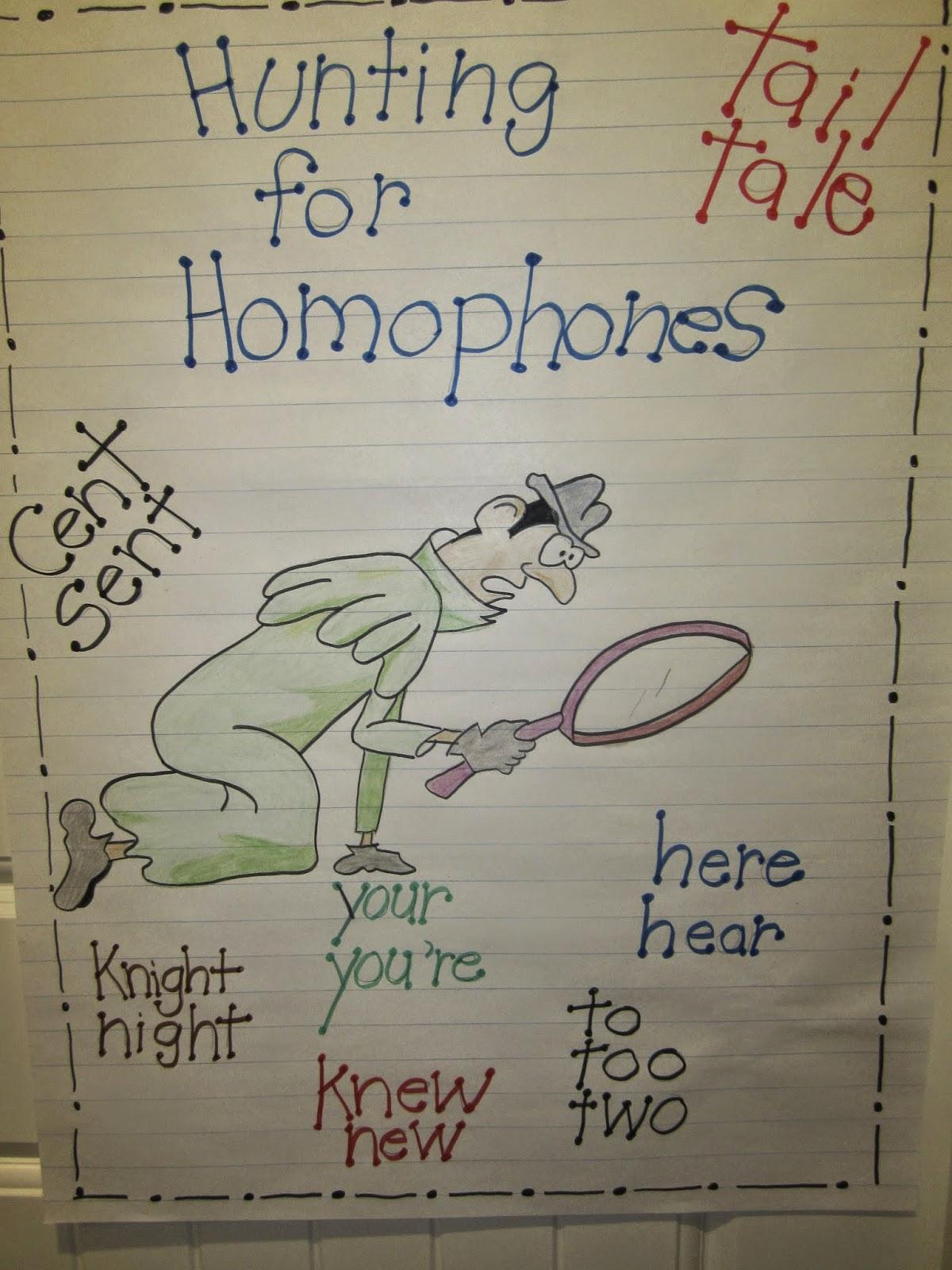 Classroom Freebies Too Hunting Homophones