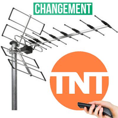 Changement de fréquence TNT