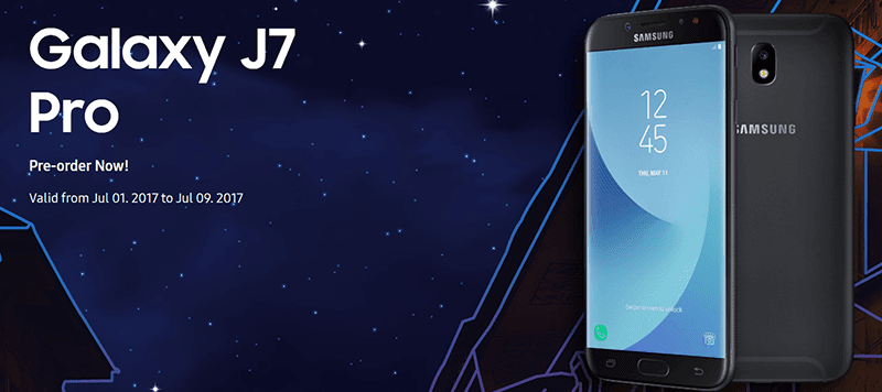 Samsung Galaxy J7 Pro With Freebies Now On Pre Order