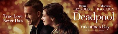 "Deadpool ""Romantic Drama"" Theatrical One Sheet Teaser Movie Banner"
