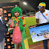 Fan Zone - CAN 2017: Mama Eto'o a été désignée Orange Fan of the Match Cameroun – Gabon (Photos)
