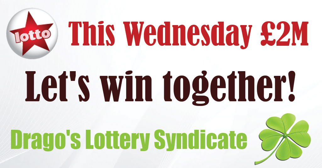 Let's win the lottery together!