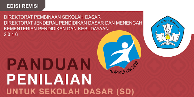 Buku Panduan Penilaian Kurikulum 2013 SD Permen 23 Tahun 2016