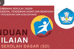 Juknis Buku Panduan Penilaian Kurikulum 2013 SD Permen 23 Tahun 2016