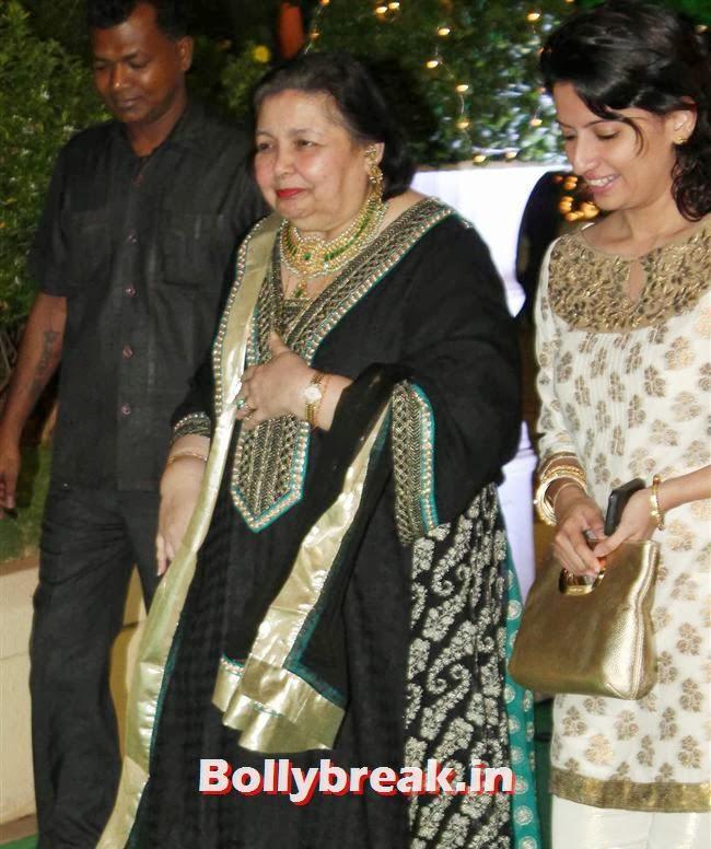 Pamela Chopra, Bollywood Babes at Vishesh Bhatt Wedding Reception