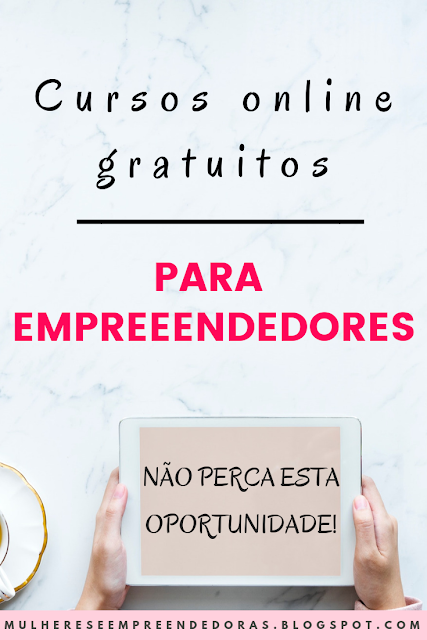 Cursos gratuitos para empreendedores