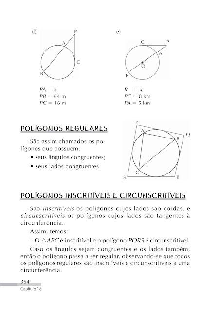 Circunferência exercícios