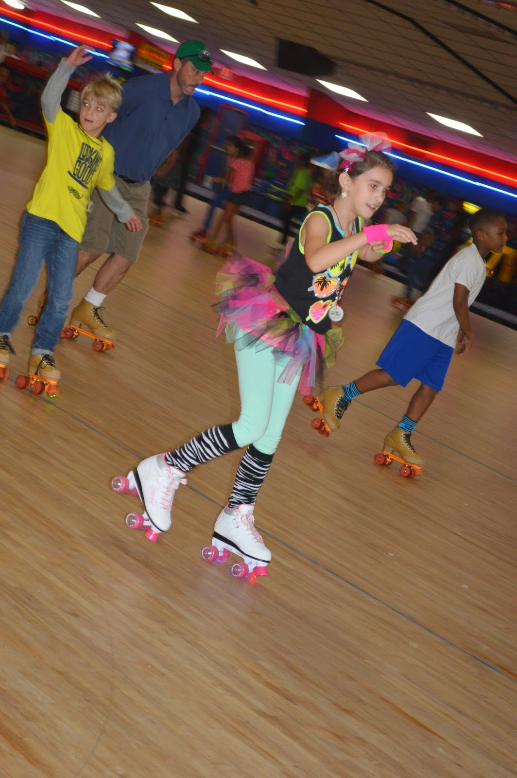 The Dixon Daily Kellyn S Roller Skating Birthday Party