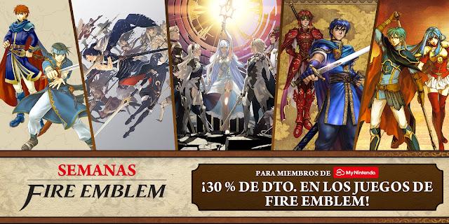 Llegan las ofertas basadas en la saga Fire Emblem a la e-shop