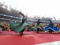 999 Penari Sufi Meriahkan Harlah Muslimat NU di GBK