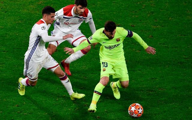 Lyon Vs FC Barcelona