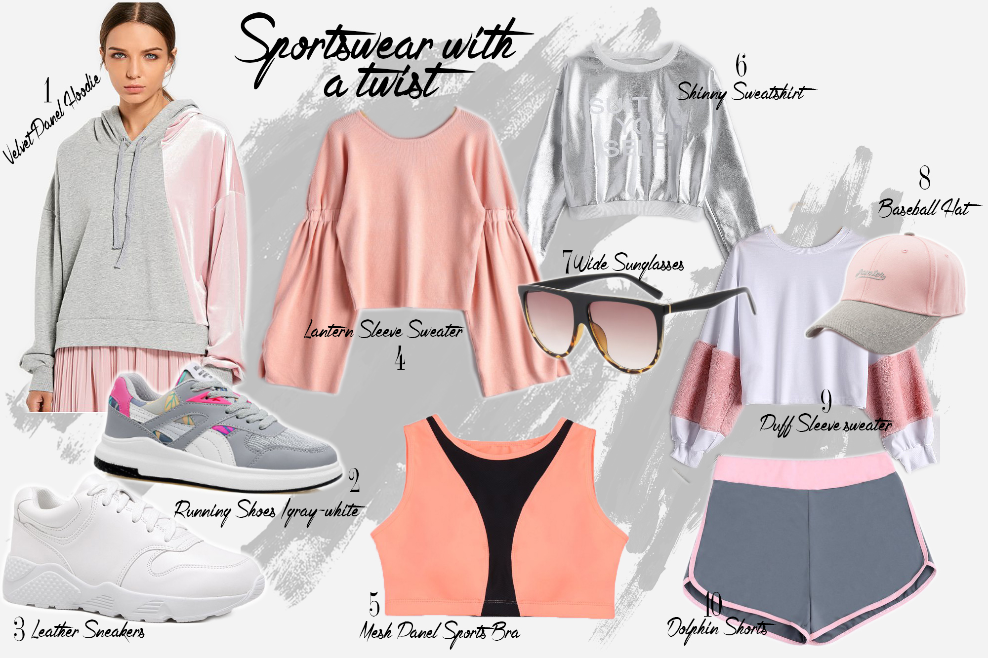 Sport chic outfit ideas for fall