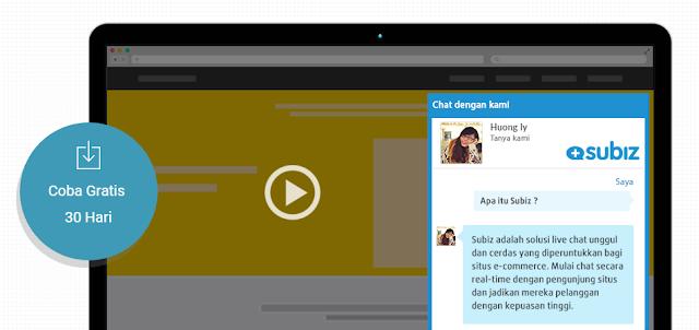 Gratis uji coba widget live chat dan paket gratisnya