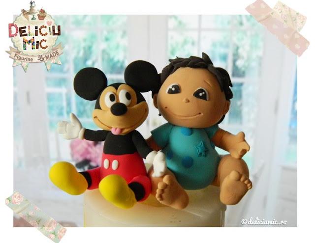 figurină pentru tort băiețel