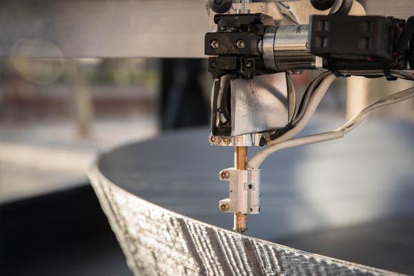 Detalle Impresora 3D Estrella de la Muerte en Madrid