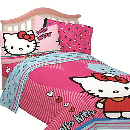 Hello Kitty Sheets For a Girl's Bedroom