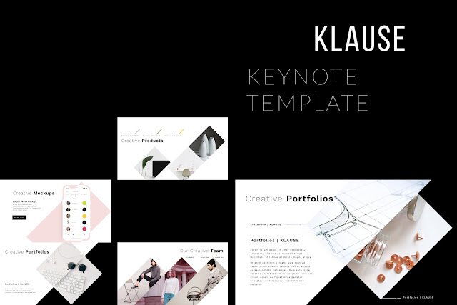 Premium Keynote Widescreen Presentation Template KLAUSE