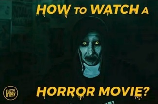 How to watch a Horror Movie? | Abishek Raaja | Fully Filmy