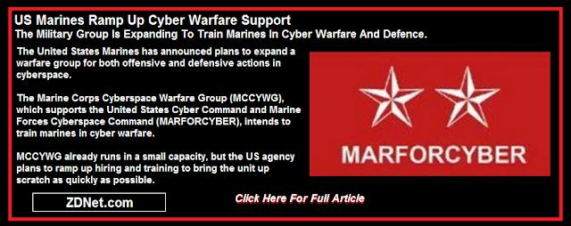 Marines Ramp Up Cyber Warfare Support