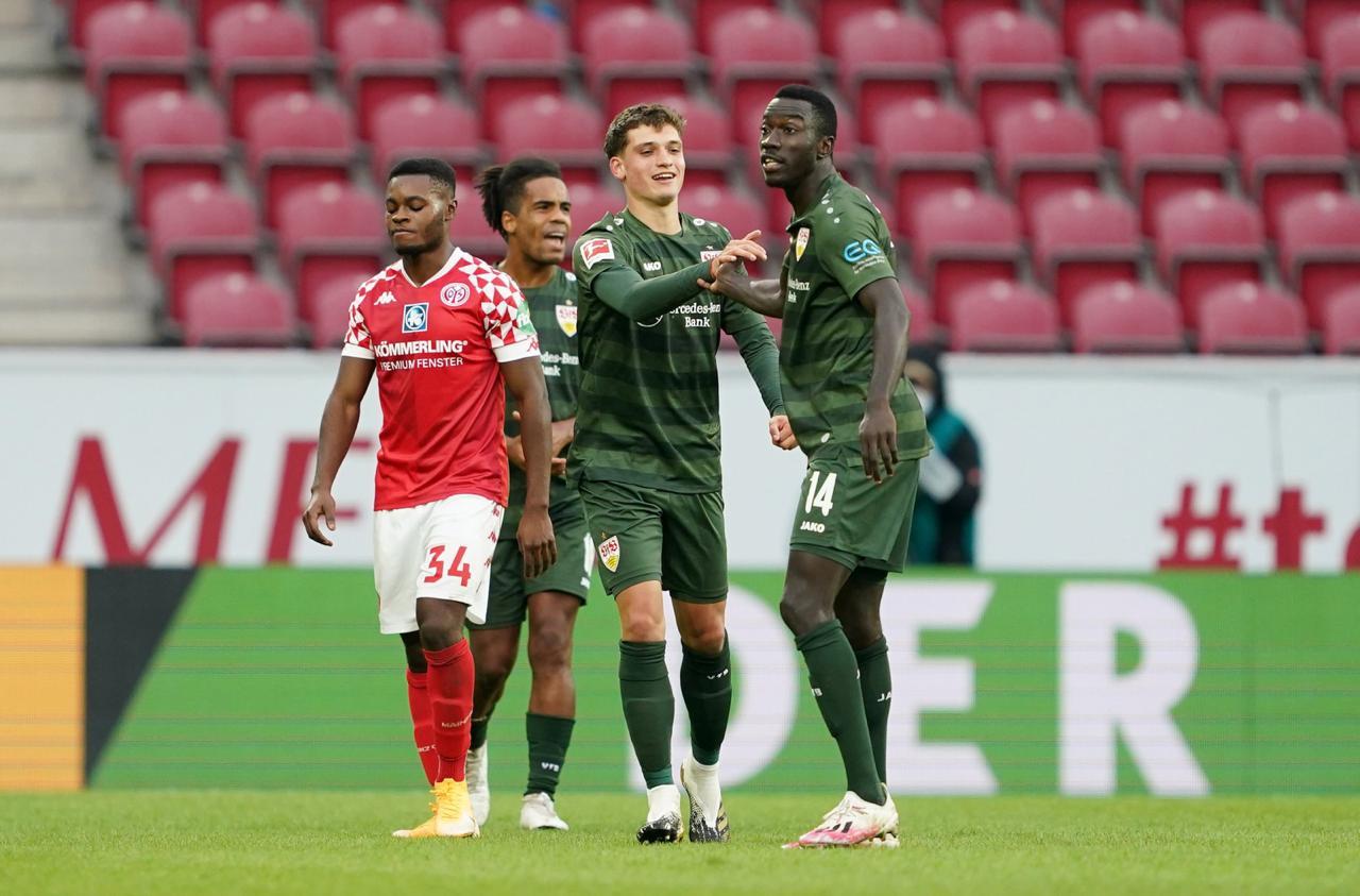 Mateo Klimowicz anotó su primer gol en Bundesliga