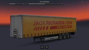 Krone Jack Richards & Son Trailer