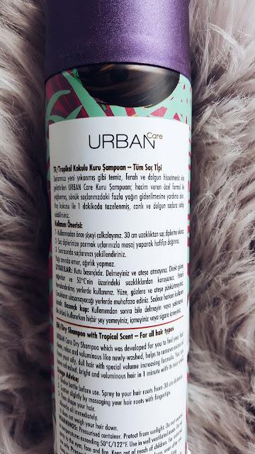 Urban Care Go Nuts With Coconut | Hindistan Cevizli Kuru Şampuan