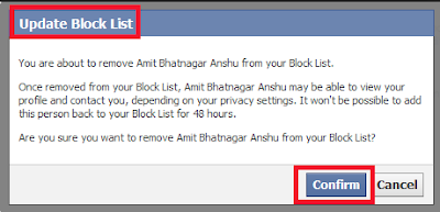 How To See Your Blocked List – Facebook Security Tips