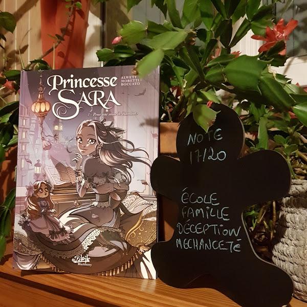 Princesse Sara, tome 01 : Pour une mine de diamants de Audrey Alwett, Nora Moretti et Claudia Boccato