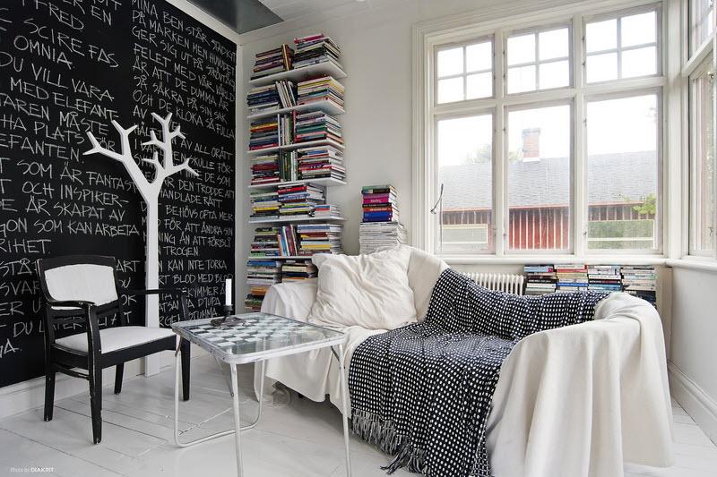 La casa da vivere scarabocchiamo sui muri con la for Arredamento della casa con la a