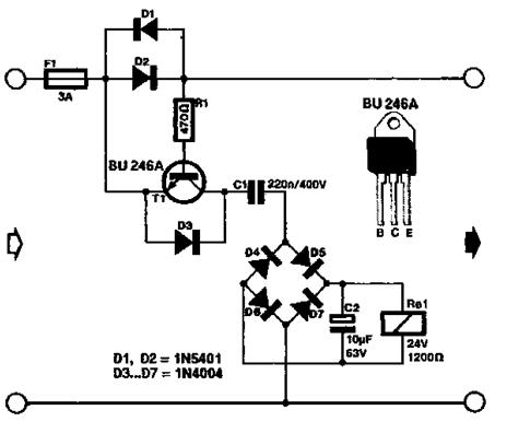 simple current monitor and alarm circuits projects rh circuits projects blogspot com Home Alarm Fuses Avalon Alarm Fuse