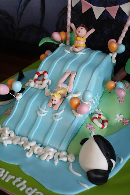 Sandy S Cakes Elly S Waterslide