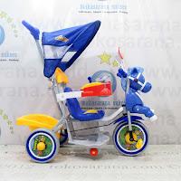 Sepeda Roda Tiga Family F9931T Kuda Musik Dobel Pesawat