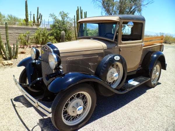 1930 ford model a closed cab pickup auto restorationice. Black Bedroom Furniture Sets. Home Design Ideas