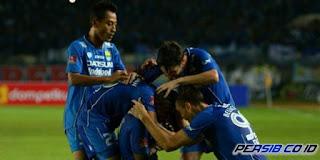 Persib Bandung vs Bali United 2-0.