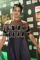 Sanjjanaa Galrani aka Archana Galrani in Maroon Gown beautiful Pics at IIFA Utsavam Awards 2017 57.JPG