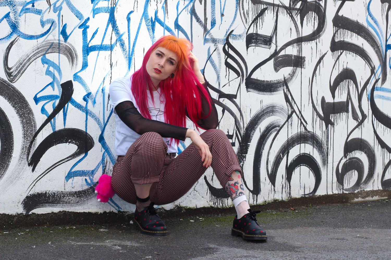 Alternative Style Blogger Foxxtailz Styles Romwe