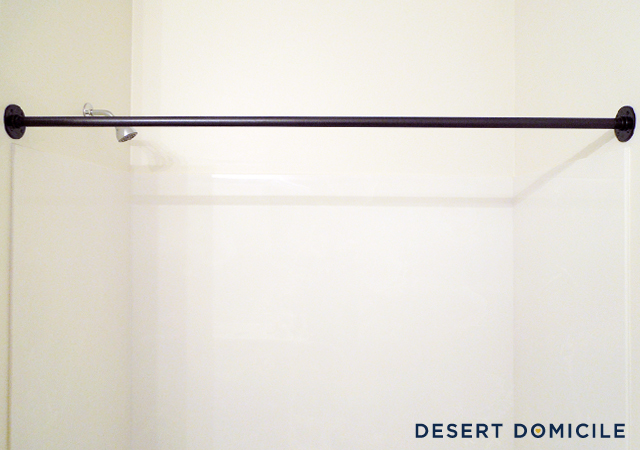 I Diy D A Pipe Shower Curtain Rod