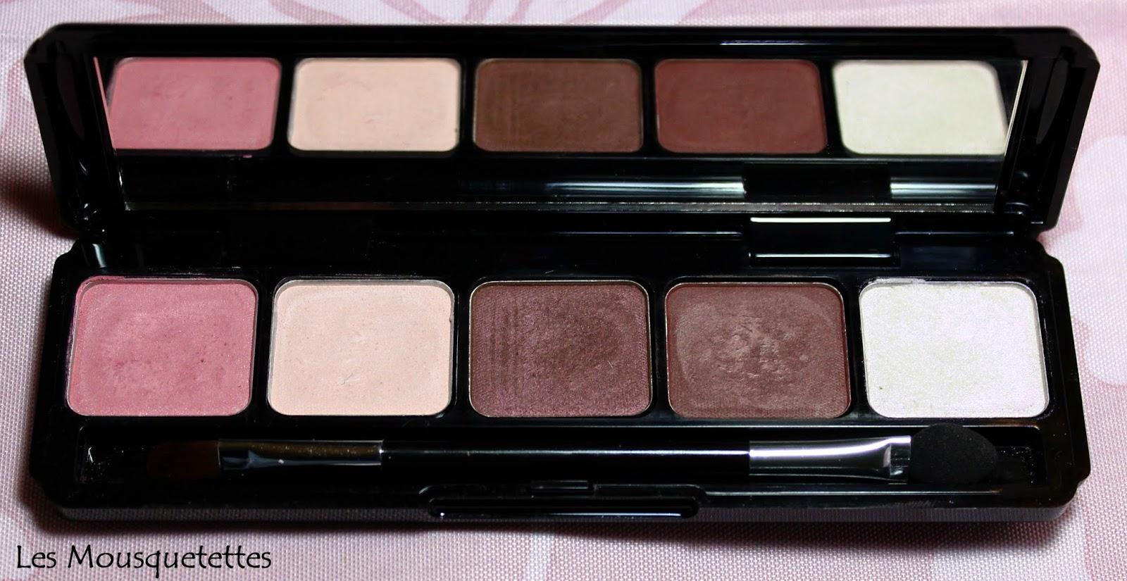 Makeup Elissance Paris Palette Double Expression Dunes - Les Mousquetettes©