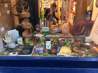The Astrology Shop window display
