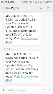Free Paytm Cash-TechEarnBlog